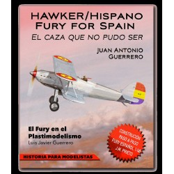 Hawker/Hispano Fury for Spain