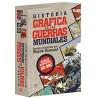 Historia gráfica de las guerras mundiales (4 vol.)