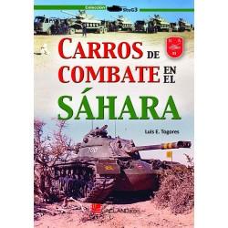 Carros de combate en el Sahara