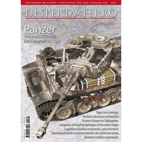 Panzer volúmen 3. Del Langrohr al Tiger